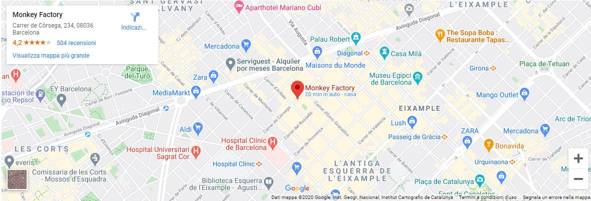 monkey factory barcelona